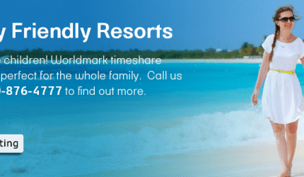 Family friendly resorts banner