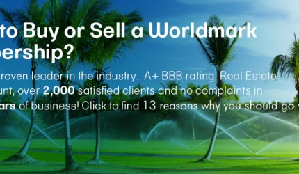 Want to buy or sell a worldmark membership banner